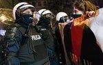 Demonstration einer polnischen Frauenrechtsorganisation